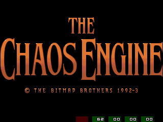 Chaos Engine Titlescreen