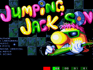 Jumping Jackson Titlescreen